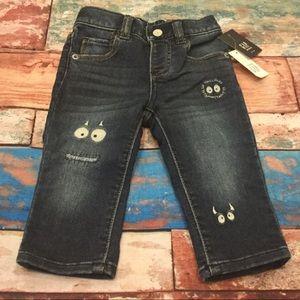 Baby Gap Boys Monster Skinny Pull-On Jeans